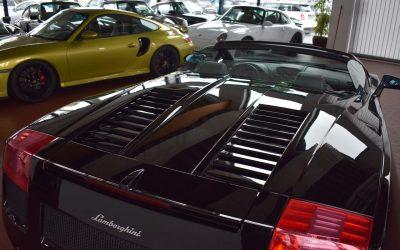 Supersportwagen – Lamborghini Gallardo Spyder
